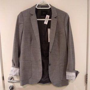 NWT Talula Exeter Blazer Size 4 Heather Grey